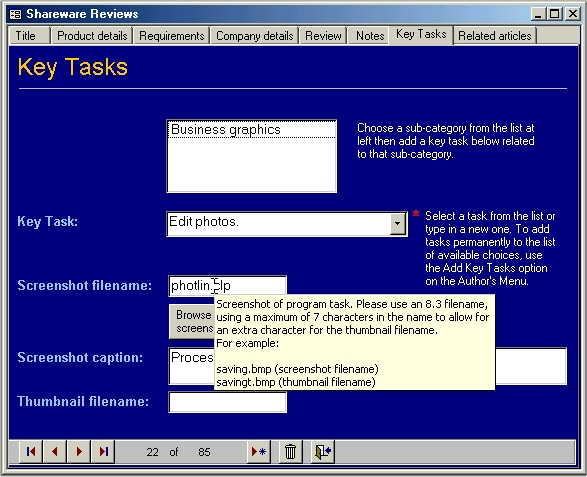 Databasics III: Data entry design | Geekgirl's Plain English Computing