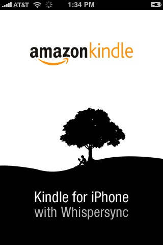 The Kindle app