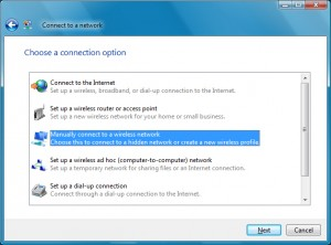 Locate a hidden wireless network